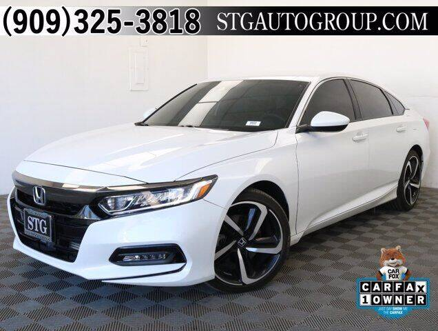 2018 Honda Accord for sale at STG Auto Group in Montclair CA