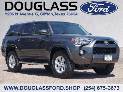 2016 Toyota 4Runner for sale at Douglass Automotive Group - Douglas Ford in Clifton TX