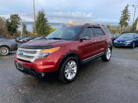 2014 Ford Explorer for sale at KARMA AUTO SALES in Federal Way WA