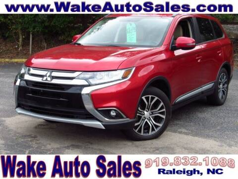 2016 Mitsubishi Outlander for sale at Wake Auto Sales Inc in Raleigh NC