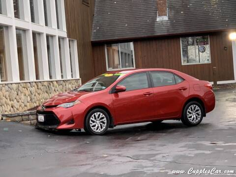 2017 Toyota Corolla for sale at Cupples Car Company in Belmont NH