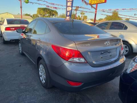 2014 Hyundai Accent for sale at CURIEL'S AUTO SALES LLC in Yuma AZ