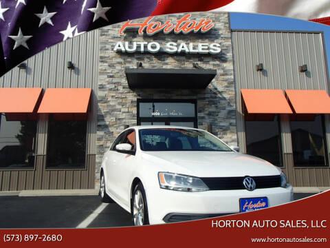 2012 Volkswagen Jetta for sale at HORTON AUTO SALES, LLC in Linn MO