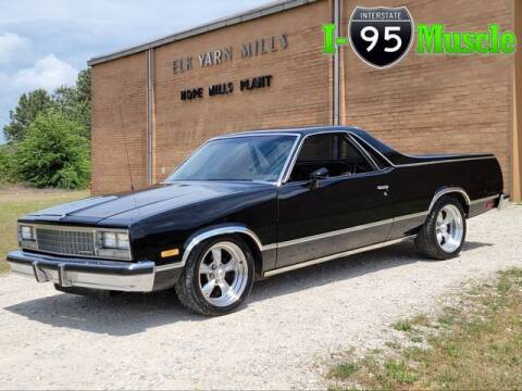 1983 Chevrolet El Camino for sale at I-95 Muscle in Hope Mills NC