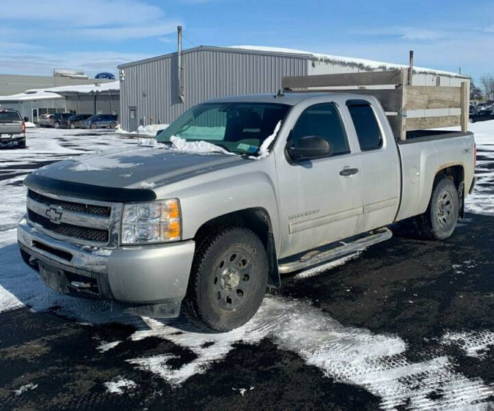 2010 Chevrolet Silverado 1500 for sale at GLOVECARS.COM LLC in Johnstown NY