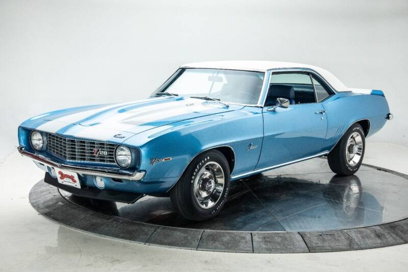 1969 Chevrolet Camaro for sale at Duffy's Classic Cars in Cedar Rapids IA