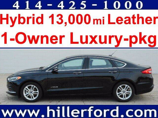 2018 Ford Fusion Hybrid for sale in Franklin, WI