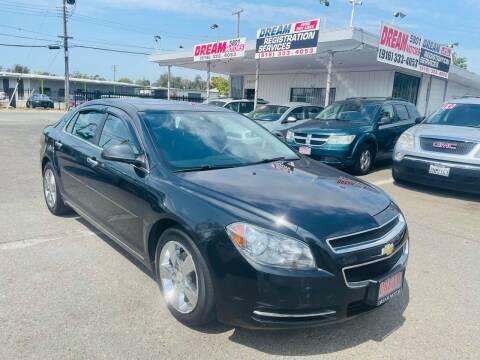 2012 Chevrolet Malibu for sale at Dream Motors in Sacramento CA