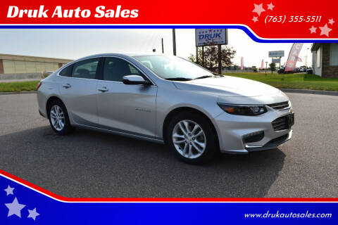 2017 Chevrolet Malibu for sale at Druk Auto Sales in Ramsey MN