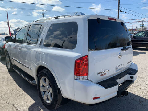 2012 Nissan Armada for sale at BULLSEYE MOTORS INC in New Braunfels TX