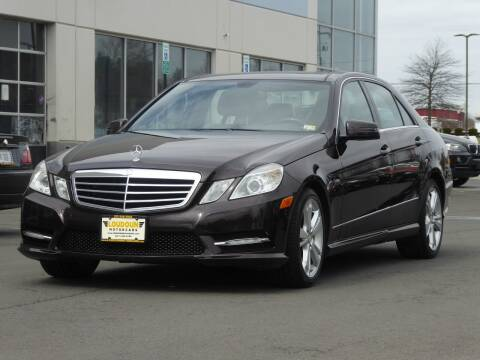 2012 Mercedes-Benz E-Class for sale at Loudoun Used Cars - LOUDOUN MOTOR CARS in Chantilly VA