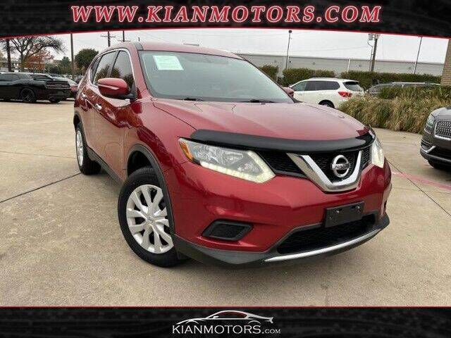 2015 Nissan Rogue for sale at KIAN MOTORS INC in Plano TX