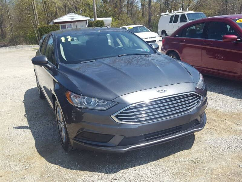 2017 Ford Fusion for sale at Jack Cooney's Auto Sales in Erie PA