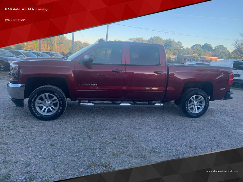 2016 Chevrolet Silverado 1500 for sale at DAB Auto World & Leasing in Wake Forest NC