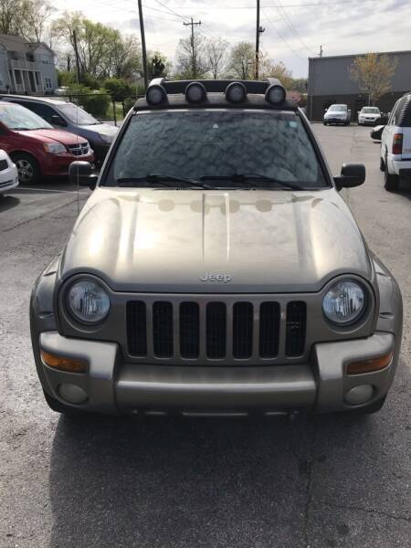 2003 Jeep Liberty for sale at Mitchell Motor Company in Madison TN