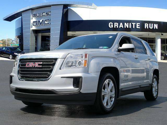 2017 GMC Terrain for sale at GRANITE RUN PRE OWNED CAR AND TRUCK OUTLET in Media PA