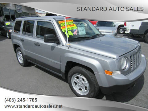 2014 Jeep Patriot for sale at Standard Auto Sales in Billings MT