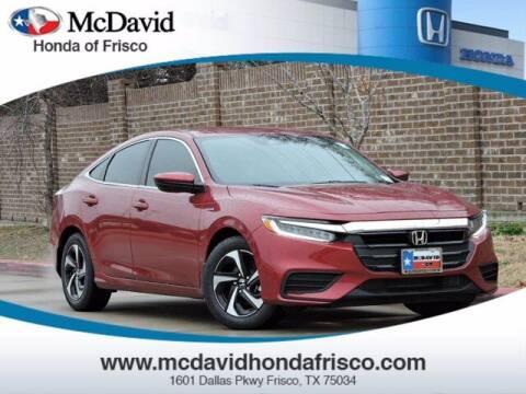 2021 Honda Insight for sale at DAVID McDAVID HONDA OF IRVING in Irving TX
