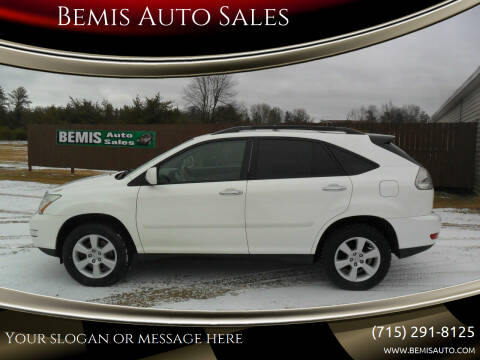2008 Lexus RX 350 for sale at Bemis Auto Sales in Crivitz WI