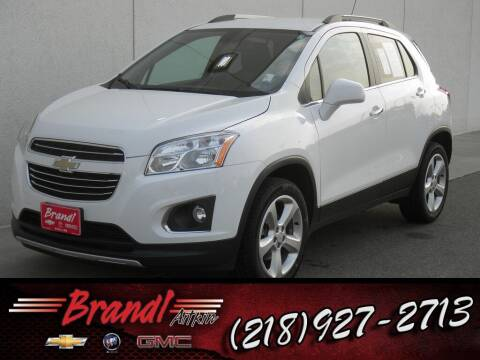 2016 Chevrolet Trax for sale at Brandl GM in Aitkin MN
