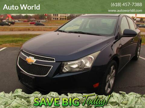 2011 Chevrolet Cruze for sale at Auto World in Carbondale IL