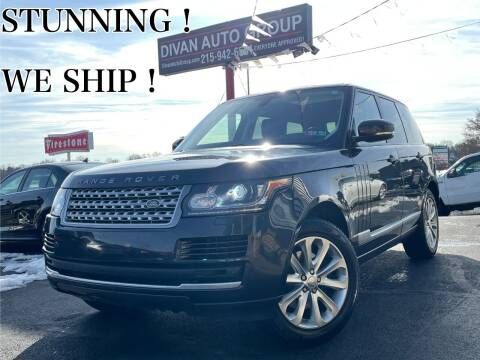 2014 Land Rover Range Rover for sale at Divan Auto Group in Feasterville PA