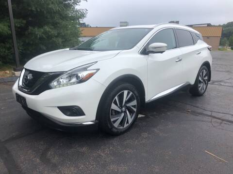 2015 Nissan Murano for sale at Branford Auto Center in Branford CT