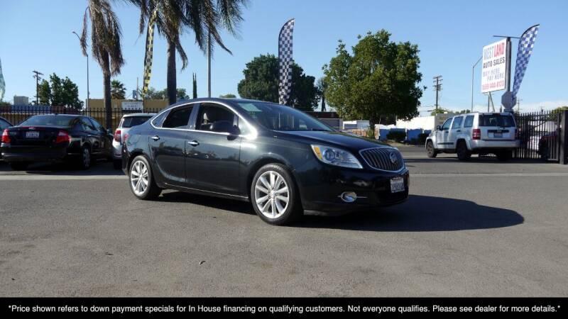 2013 Buick Verano for sale at Westland Auto Sales in Fresno CA