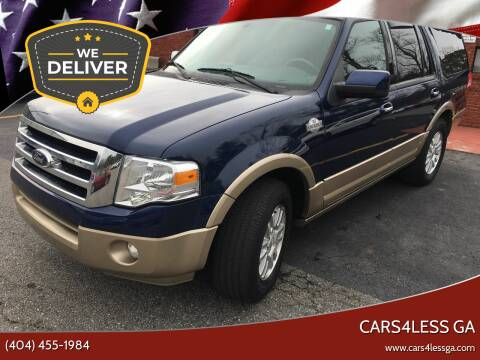 2012 Ford Expedition for sale at Cars4Less GA in Alpharetta GA