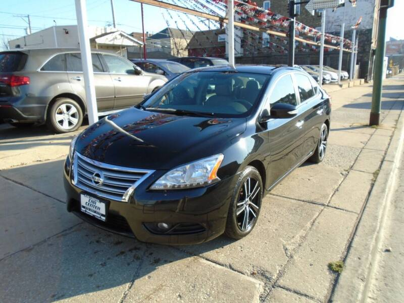 2013 Nissan Sentra for sale at CAR CENTER INC in Chicago IL