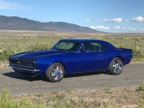1967 Chevrolet Camaro for sale at Classic Car Deals in Cadillac MI