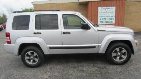 2008 Jeep Liberty for sale at LENTZ USED VEHICLES INC in Waldo WI