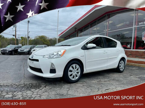 2012 Toyota Prius c for sale at USA Motor Sport inc in Marlborough MA