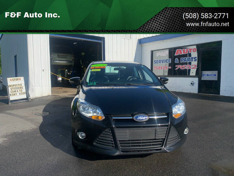 2014 Ford Focus for sale at F&F Auto Inc. in West Bridgewater MA