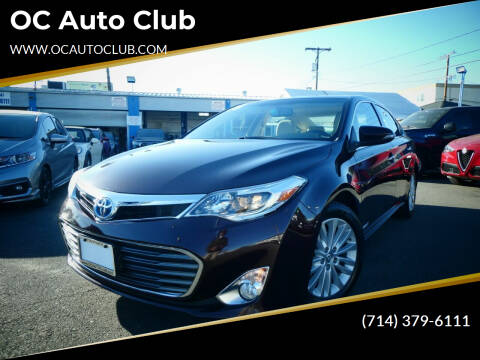 2015 Toyota Avalon Hybrid for sale at OC Auto Club in Midway City CA