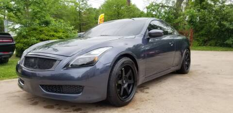 2008 Infiniti G37 for sale at Green Source Auto Group LLC in Houston TX