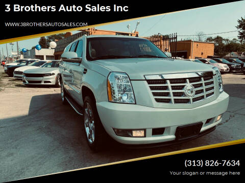 2010 Cadillac Escalade ESV for sale at 3 Brothers Auto Sales Inc in Detroit MI