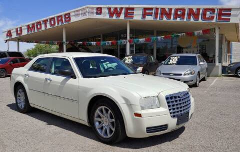 2008 Chrysler 300 for sale at 4 U MOTORS in El Paso TX