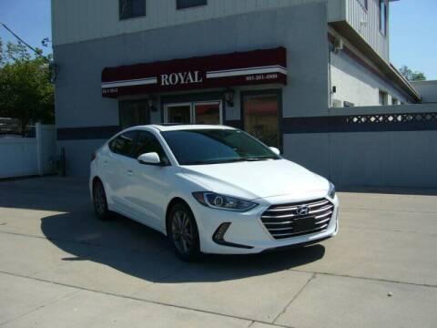 2018 Hyundai Elantra for sale at Royal Auto Inc in Murray UT