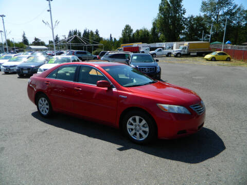 2007 Toyota Camry Hybrid for sale at J & R Motorsports in Lynnwood WA