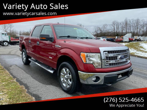 2013 Ford F-150 for sale at Variety Auto Sales in Abingdon VA