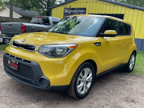 2015 Kia Soul for sale at M & J Motor Sports in New Caney TX