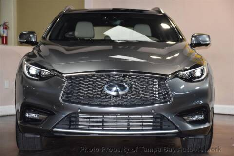 2018 Infiniti QX30 for sale at Tampa Bay AutoNetwork in Tampa FL