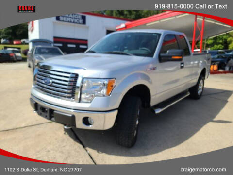 2010 Ford F-150 for sale at CRAIGE MOTOR CO in Durham NC