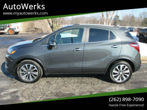 2017 Buick Encore for sale at AutoWerks in Sturtevant WI