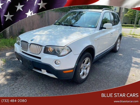 2007 BMW X3 for sale at Blue Star Cars in Jamesburg NJ