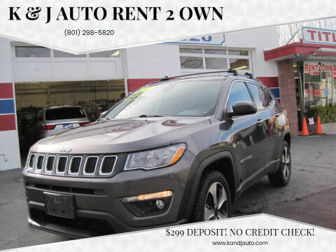 2017 Jeep Compass for sale at K & J Auto Rent 2 Own in Bountiful UT