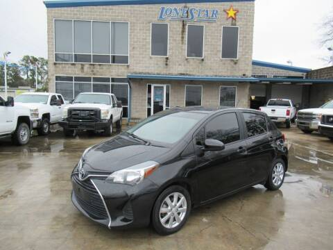 2015 Toyota Yaris for sale at Lone Star Auto Center in Spring TX