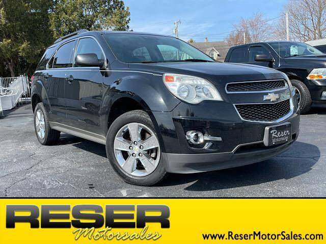 2013 Chevrolet Equinox for sale at Reser Motorsales in Urbana OH