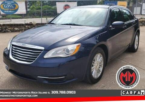 2014 Chrysler 200 for sale at MIDWEST MOTORSPORTS in Rock Island IL